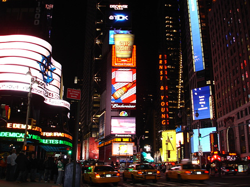 new york times square pictures. new york times square at
